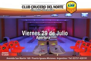 crucero bowling