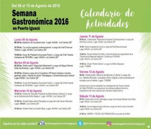 programa semana gastronomica